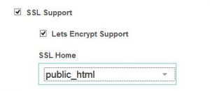 Enable SSL