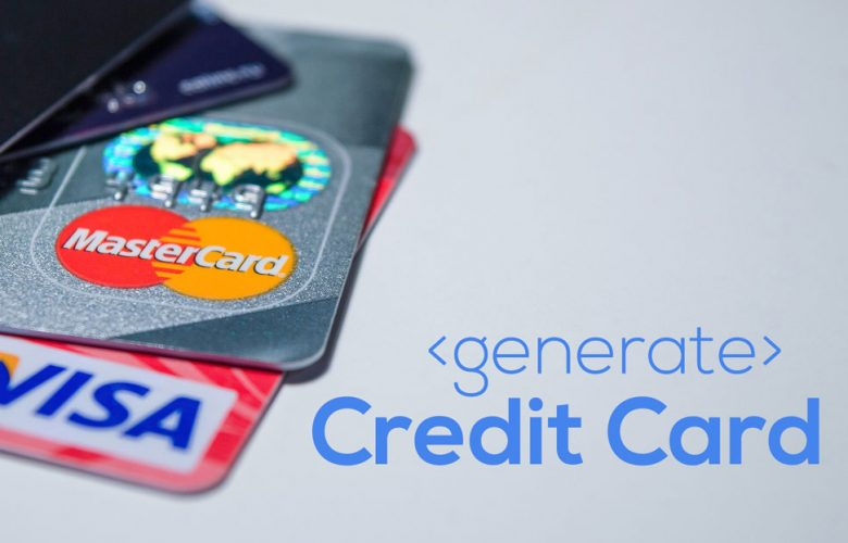 Generate Fake Credit Card