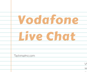 vodafone live chat